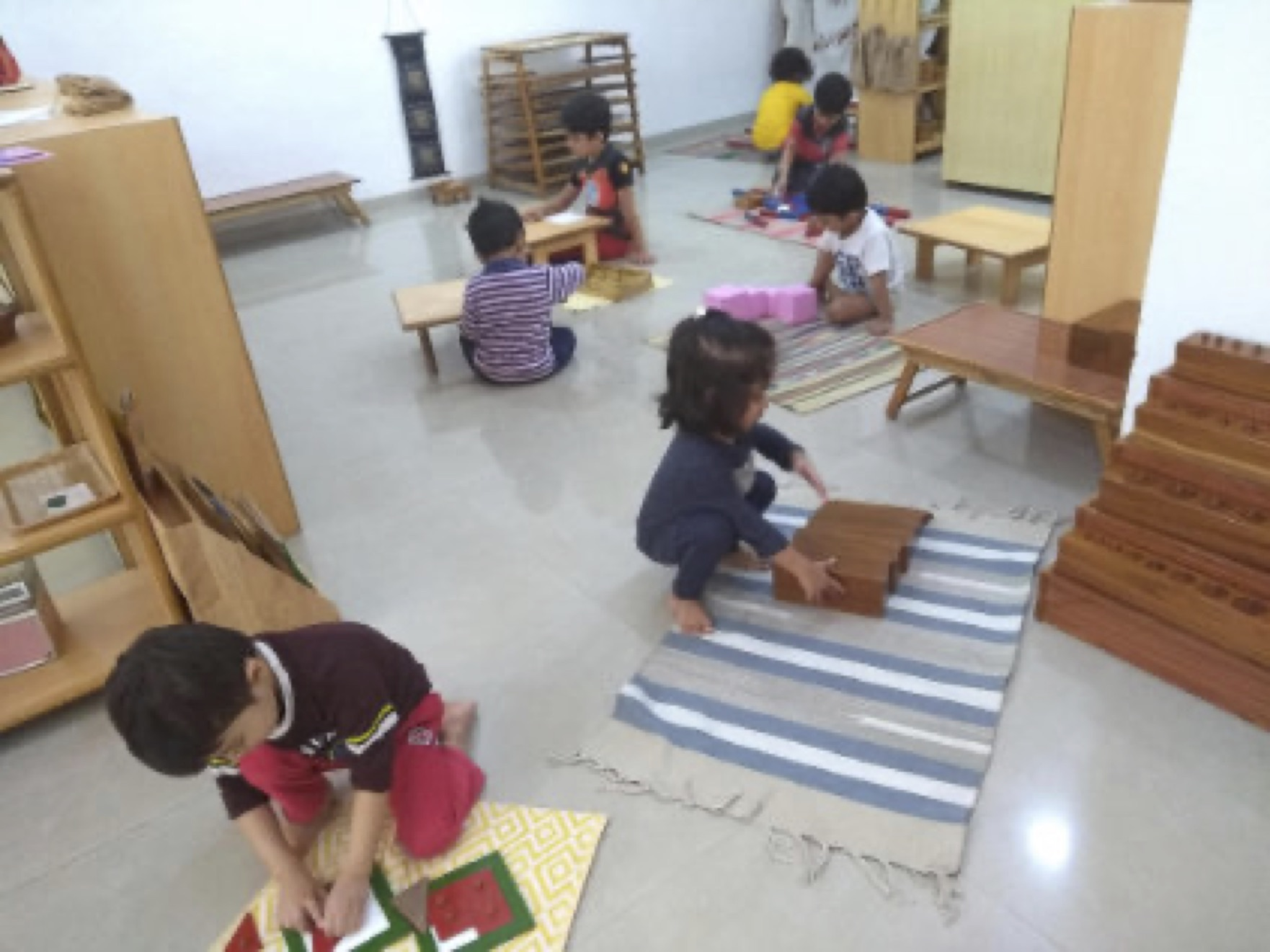 individualised learning at savi montessori